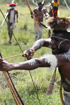 Dani people. Baliem Valley. Papua. Indonesia, via Flickr.