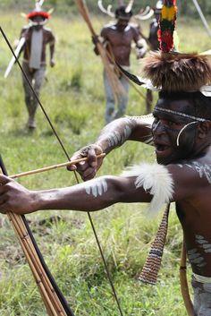 Dani people. Baliem Valley. Papua. Indonesia, via Flickr.