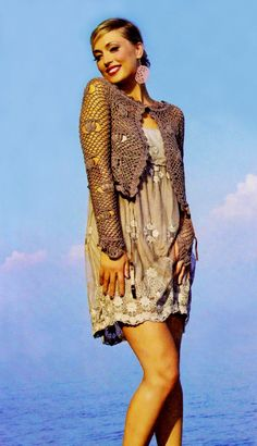 Hey, I found this really awesome Etsy listing at https://www.etsy.com/listing/164809344/evening-crochet-jacket-pattern-romantic