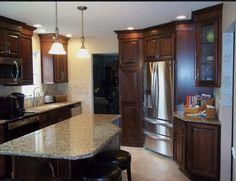 9 Best Corner Fridge Images Kitchen Ideas Kitchen Remodeling