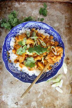 Cauliflower Vegetable Curry.