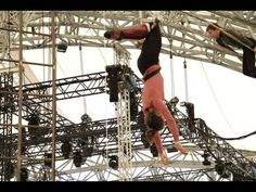 Let the rehearsals begin! BIANCO: NoFit State Circus show at the Eden Project, 2012