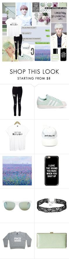 """Savage Suga"" by missmodel13 ❤ liked on Polyvore featuring Miss Selfridge, adidas, Casetify, Diesel and Lodis"