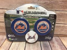 iHip MLB New York Mets Team Logo Speaker for iPod iPhone | Consumer Electronics, Portable Audio & Headphones, iPod, Audio Player Accessories | eBay!
