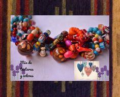 Mix de colores. Piedras hindúes