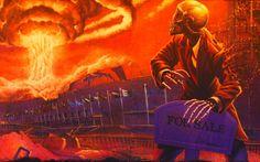 Megadeth- Peace Sells… But Who's Buying? bonus art by Ed Repka.