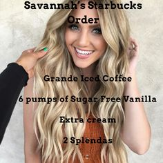 Savannah Labrant's Starbucks Drink Order