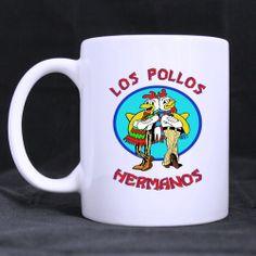 Los Pollos Hermanos Breaking Bad Ceramic Mug 11 by CornucopiaStore, €16.50