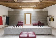 Rachel Comey boutique in New York City, by Charles de Lisle
