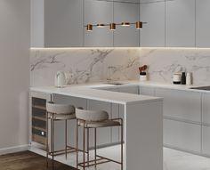 Home Decor Kitchen, Kitchen Cabinet Design, Kitchen Remodel, Kitchen Decor, Kitchen Decor Modern, Kitchen Inspiration Design, Kitchen Room Design, Home Kitchens, Modern Kitchen Design