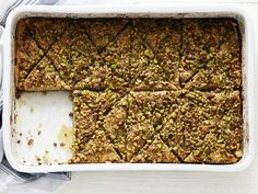 Baklava with Rose Water recipe from Food Network Kitchen via Food Network