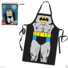 NEW Batman Character Costume Apron  FREE SHIPPING