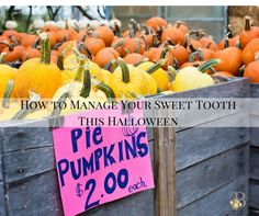 Wellness Wednesday: How to Manage Your Sweet Tooth This Halloween