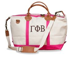 Gamma Phi Beta  WEEKENDER BAG