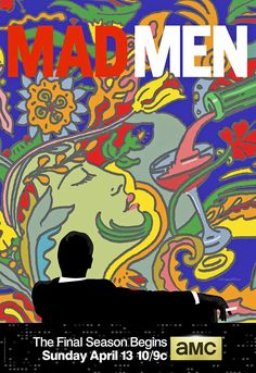 Milton Glaser's Psychedelic Poster For Final Season Of Mad Men   Co.Create   creativity + culture + commerce