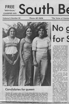1977 Dobie Longhorn Queen Finalists