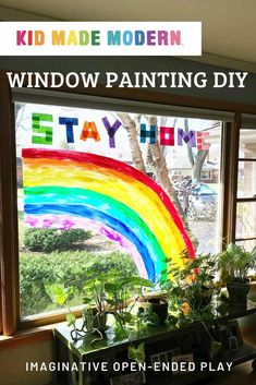 Create community art to express love and gratitude while staying home!