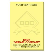 Custom Imprinted Sticky Notes Product Size X Carton Weight 5 Lbs Minimum Quany Made In Usa