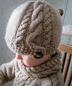 KNITTING PATTERN PDF Slouch Hat Knit pattern by KnotEnufKnitting