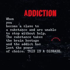 There are some scary things in our world today, but none is more scary than an addiction to drugs and alcohol. It's a growing problem in our society, and alcohol and drug addiction has become a tough nut to crack, so to speak. Drugs and alcohol make. Sobriety Quotes, Sober Quotes, Quotes Quotes, Drug Quotes, Life Quotes, Relationship Quotes, Drug Poems, Success Quotes, Sobriety Gifts