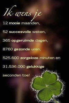 Happy New Year Ik wens je Best Quotes, Love Quotes, Inspirational Quotes, Nice Sayings, Dutch Quotes, New Year Wishes, Marianne Design, Thing 1, Christmas Wishes