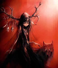 Carine-M - Élian Black'Mor #Red #Wolf