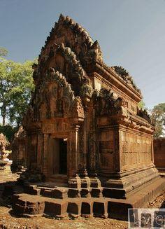 Biblioteca en Banteay Srei