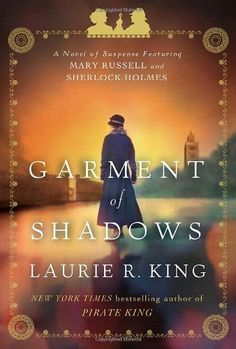 Really enjoying : Garment of Shadows: A novel of suspense featuring Mary Russell and Sherlock Holmes by Laurie R. King, http://www.amazon.com/dp/0553807994/ref=cm_sw_r_pi_dp_wbG4qb0P175WX