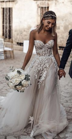 Long Gown For Wedding, Wedding Dresses 2018, Sweetheart Wedding Dress, Boho Wedding Dress, Bridal Dresses, Princess Wedding Dresses, Summer Wedding, Floral Wedding, Wedding Ceremony