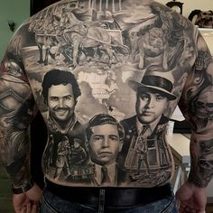 Fantastic #backpiece done by Eduard Vîrlan @virlaneduardtattoo #realism #realistictattoo #realistic #blackandgraytattoo #tattooartistmagazine Artists: Tag us to share & use our #tattooartistmagazine to submit your daily work
