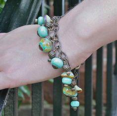 Handmade Glass Beaded Bracelet