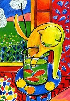 Henri Émile Benoît Matisse (francés: [ɑ̃ʁi emil bənwɑ matis]; 31 de diciembre de 1869 – 3 de noviembre de 1954) fue un artista francés, conocido por su uso del color y por su diseño fluido y original. Fue dibujante, grabador y escultor, pero es conocido principalmente como pintor. 1 / Matiss… • Millones de diseños originales hechos por artistas independientes.