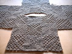 Lovely crochet top, photo tutorial
