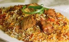 MEMONI BRIYANI - This is an extremely spicy type of biryani that comes from the Gujarat-Sidh region. It is made with lamb, yogurt, fried onions and potatoes. Unlike regular Sindhi biryani, it uses very little tomatoes.  Gujarat, India