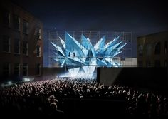 wendy: pollution-fighting architecture by HWKN for MoMa PS1 courtyard