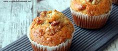 ricetta muffin noci