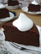 写真 Cute Food, A Food, Food And Drink, Sweets Recipes, Cake Recipes, Desserts, Chocolate Lovers, Chocolate Cakes, Yummy Cakes