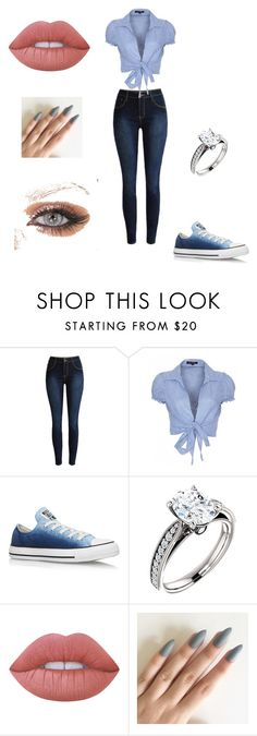 """""""Untitled #14"""" by dezy-gal on Polyvore featuring QED London, Converse and Lime Crime"""