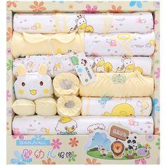 17.91$  Watch here - http://aliehh.shopchina.info/1/go.php?t=32619346488 - Hot 18 Pcs new born baby Supplies Newborn Gift Set /Baby boy girl Infant Clothing Set/ Baby Clothing High Quality! 17.91$ #bestbuy