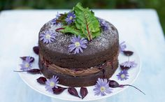 You may not think that beetroot and chocolate would go together but this has to be tried to be believed - the rich cake goes perfectly with the creamy filling. A great pick for a grown-up birthday cake.