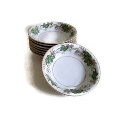A personal favorite from my Etsy shop https://www.etsy.com/listing/177394707/vintage-noritake-china-berry-dishes