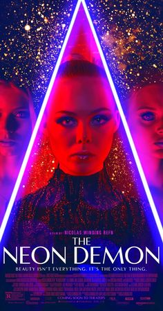 Directed by Nicolas Winding Refn.  With Elle Fanning, Christina Hendricks, Keanu Reeves, Karl Glusman. When aspiring model Jesse moves to Los Angeles, her youth and vitality are devoured by a group of beauty-obsessed women who will take any means necessary to get what she has.