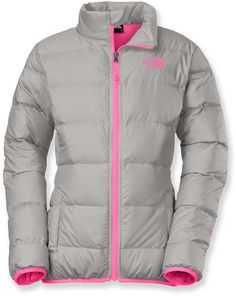 The North Face Female Andes Down Jacket - Girls'