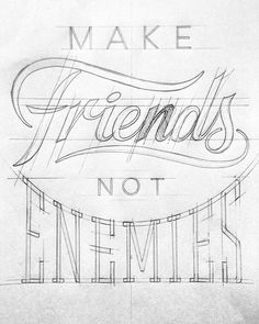 Another positive design in progress FOR . Another positive design in progress FOR by bijdevleet Cool Typography, Creative Lettering, Lettering Styles, Types Of Lettering, Hand Drawn Lettering, Typography Letters, Brush Lettering, Graphic Design Typography, Lettering Design