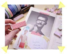 Stamped Masking Tape