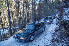 Saab 900 classic x2
