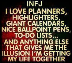 Image result for INFJ lists pens