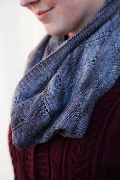 Ravelry: Mist Cowl pattern by Kirsten Hipsky