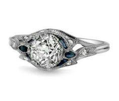 Brilliant Earth's Art Nouveau ring