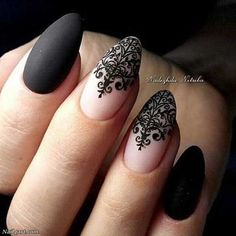 Latest nail designs for chic women - nail design & nail art - Nageldesign - Lace Nail Design, Lace Nail Art, Lace Nails, Nail Art Pen, Pink Nails, Latest Nail Designs, Nail Art Designs, Uñas Jamberry, Hair And Nails